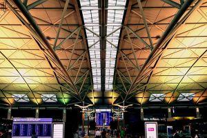 http://en.wikipedia.org/wiki/File:Incheon_International_Airport_Interior.jpg