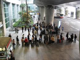 http://commons.wikimedia.org/wiki/File:Korea-Incheon-International-Airport-Bus-stop.JPG