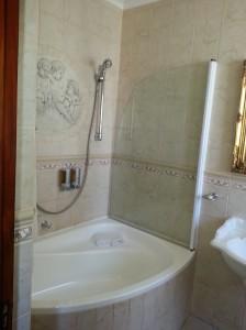 The Victorian-themed bath