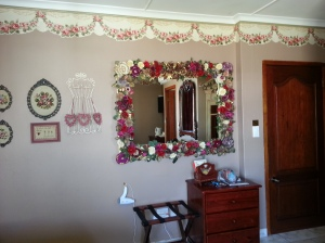 The floral mirror