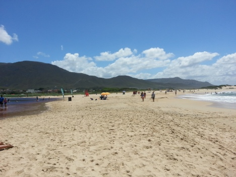 "The beach and ""lagoon"""