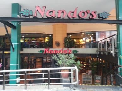 Nando's, are you lost?