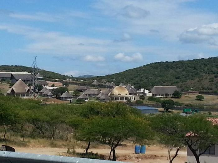 Nkandla homestead of Prez Zuma