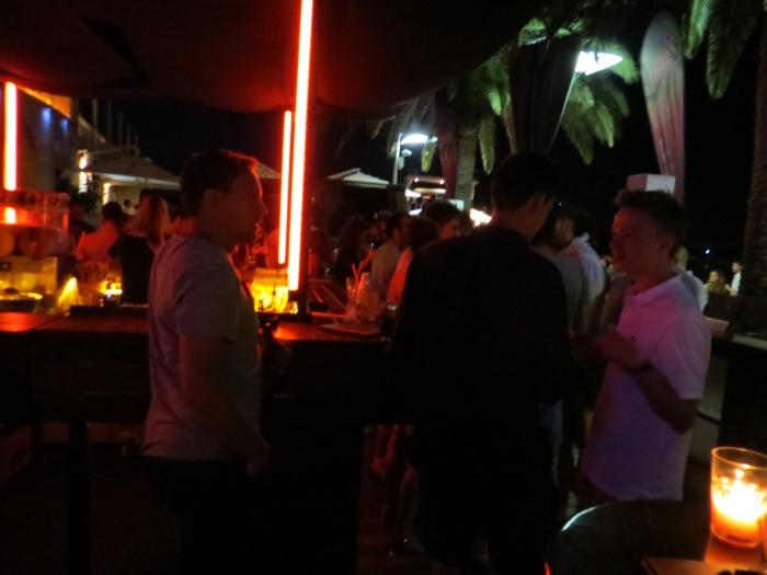 A blurry bar pic!