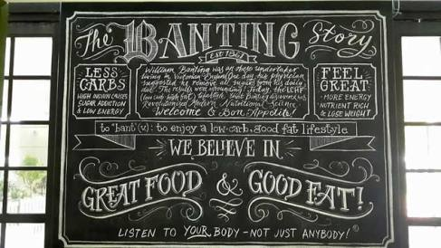 The chalk board
